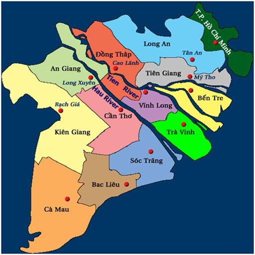 Kết quả hình ảnh cho Đồng bằng sông cửu long